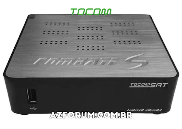 Atualização Tocomsat Combate S HD Limited Edition V2.07 - 28/12/2020