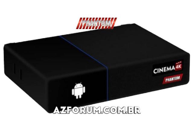 Atualização Phantom Cinema 4K V2.3.67 - 09/10/2021