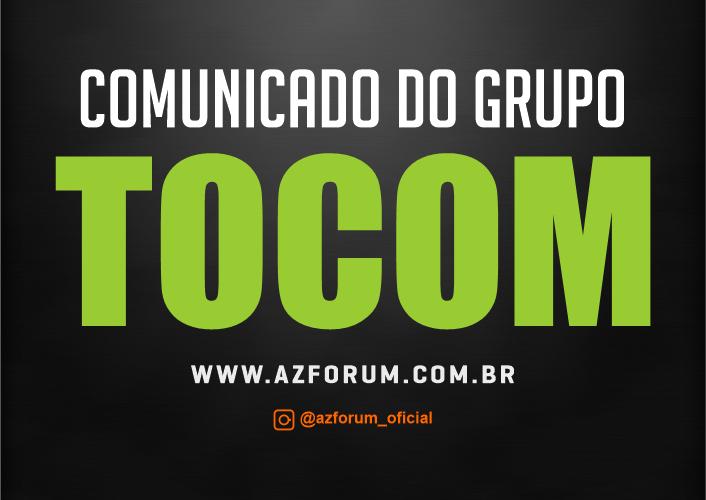 Comunicado Oficial Grupo TOCOM - 03/03/2021