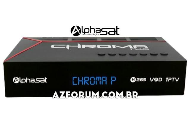 Atualização Alphasat Chroma Plus V13.04.07.S80 - 07/04/2021