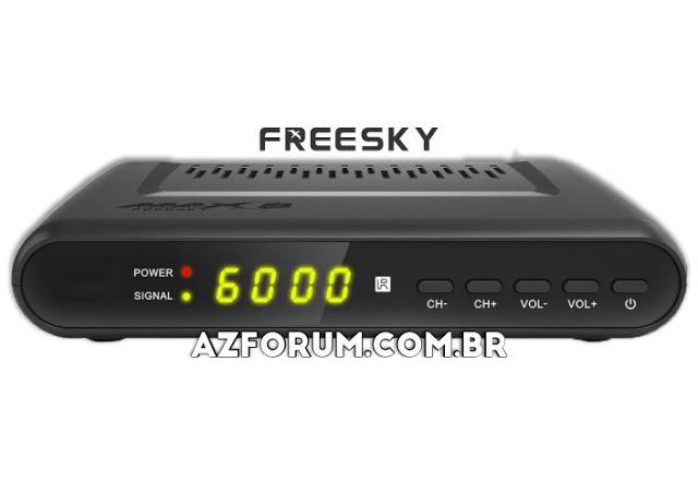 Atualização Freesky Max S V1.09.23197 - 11/10/2021