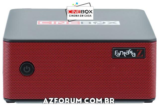 Atualização Cinebox Fantasia Z - 30/05/2021