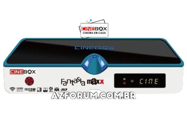 Atualização Cinebox Fantasia Maxx - 31/05/2021