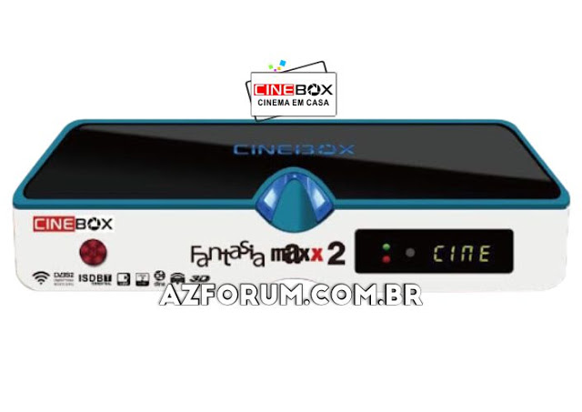 Atualização Cinebox Fantasia Maxx 2 - 31/05/2021