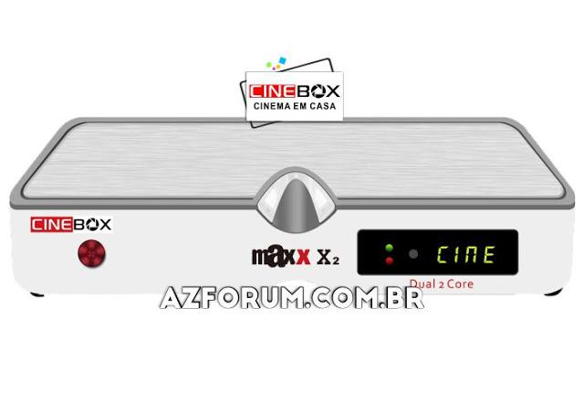 Atualização Cinebox Fantasia Maxx X2 - 31/05/2021