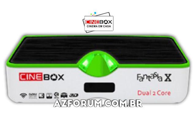 Atualização Cinebox Fantasia X - 31/05/2021