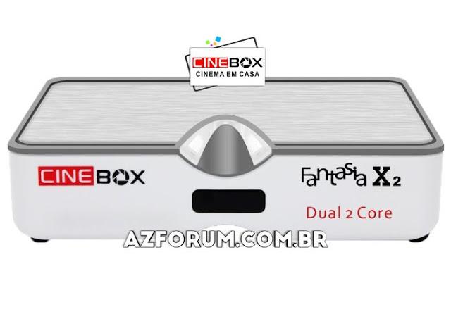 Atualização Cinebox Fantasia X2 - 31/05/2021