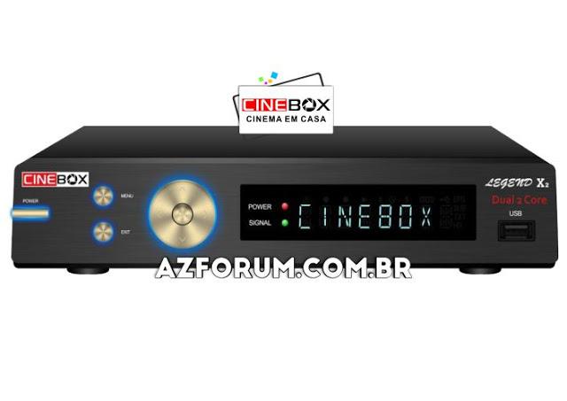 Atualização Cinebox Legend X2 - 31/05/2021