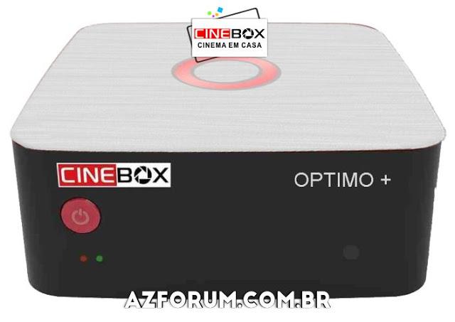 Atualização CineBox Optimo + Plus - 18/05/2021
