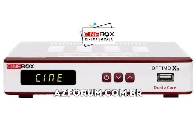 Atualização Cinebox Optimo X2 - 03/05/2021