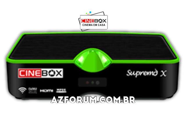 Atualização Cinebox Supremo X - 31/05/2021