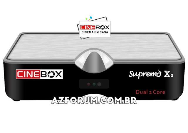 Atualização Cinebox Supremo X2 - 03/05/2021