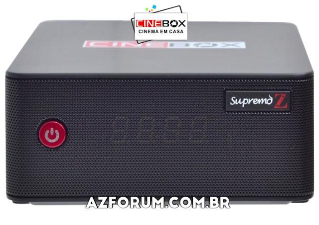 Atualização Cinebox Supremo Z - 30/05/2021