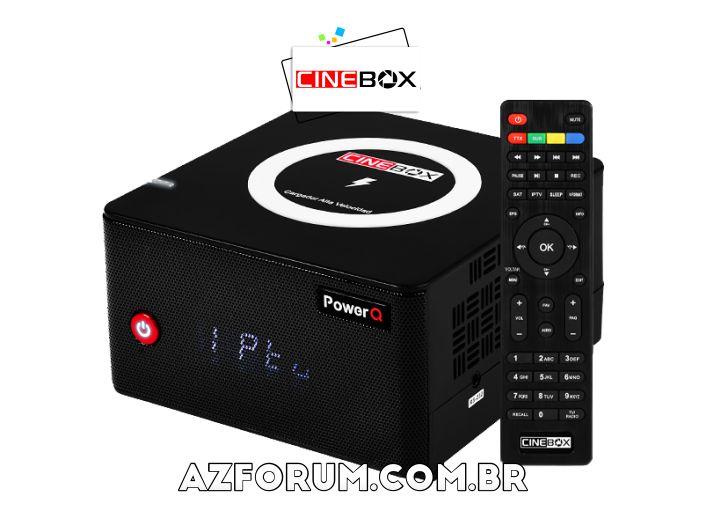 Atualização Cinebox Power Q - 30/05/2021