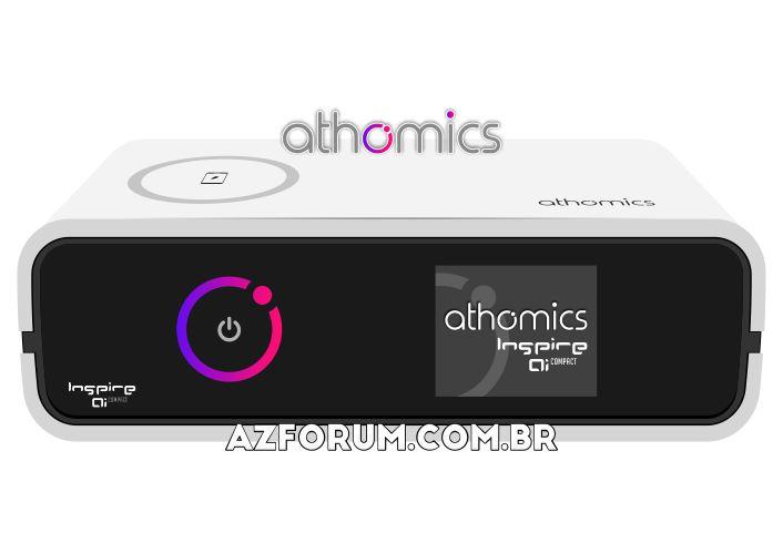 Primeira Atualização Athomics Inspire Qi Compact V1.0.1 - 06/05/2021