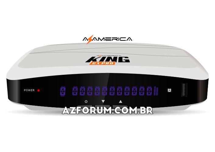 Primeira Atualização Azamerica King GX Pro V1.09 - 06/05/2021