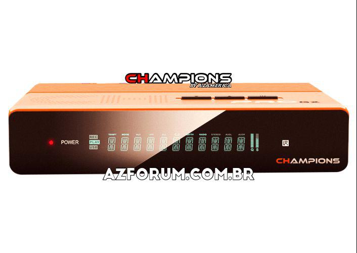 Atualização Champions Pro GX V1.07 - 24/05/2021