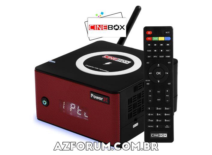 Atualização Cinebox Power X - 30/05/2021