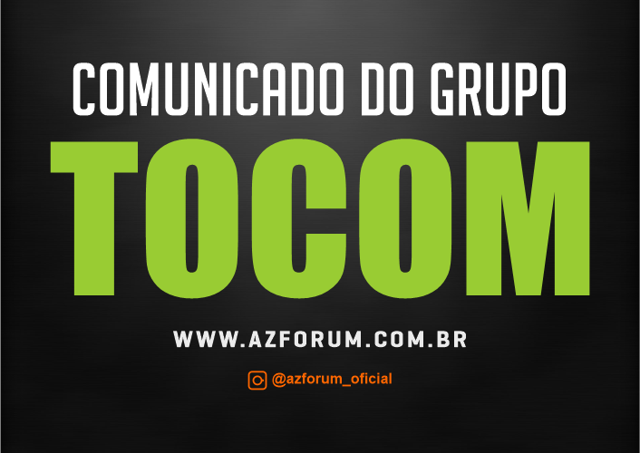 Comunicado Oficial Grupo TOCOM SKS 63w - 13/05/2021