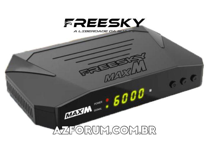 Atualização Freesky Max M V1.12 - 11/05/2021