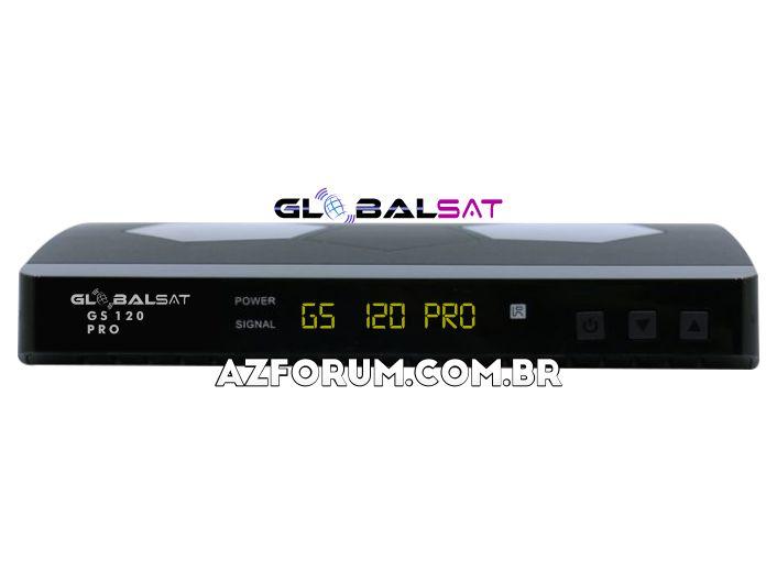 Atualização Globalsat GS 120 Pro V1.15 - 26/05/2021