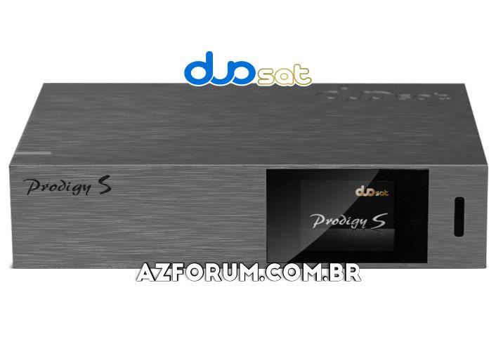 Atualização Duosat Prodigy S V1.2.0 - 08/10/2021