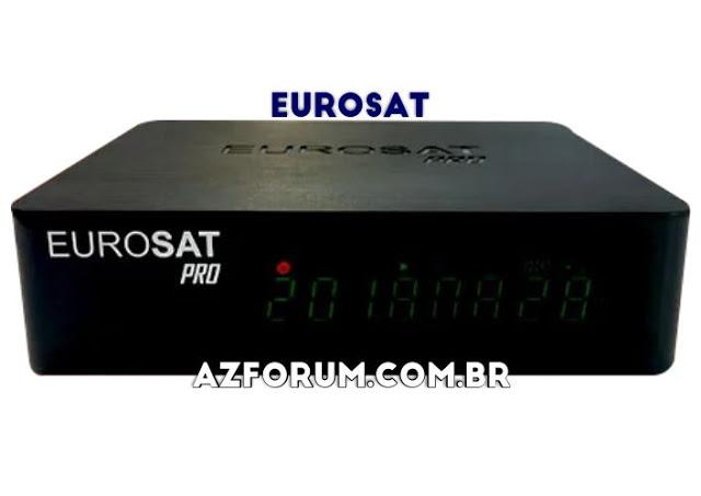 Atualização Eurosat Pro V1.57 - 07/06/2021
