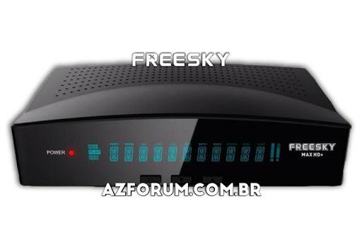 Atualização Freesky Max HD + Plus V1.63 - 01/06/2021