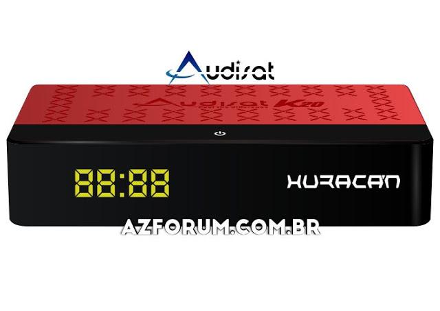 Atualização Audisat K20 V2.0.72 - 07/06/2021