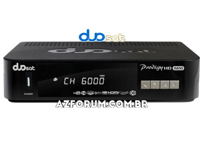 Atualização Duosat Prodigy HD Nano V13.6 - 08/10/2021