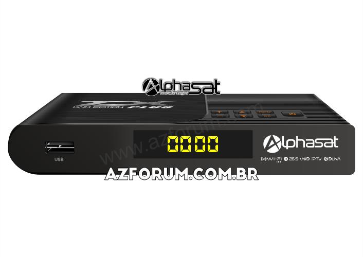 Primeira Atualização Alphasat TX Plus V13.06.25.S82 - 28/06/2021