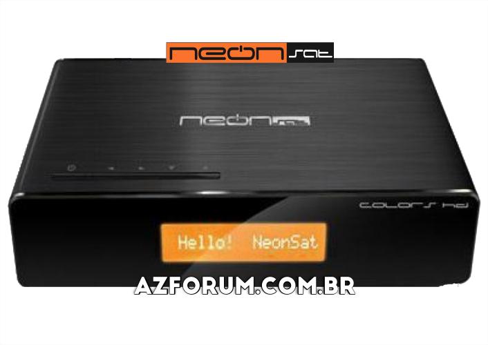 Atualização Neonsat Colors HD C102 - 14/06/2021