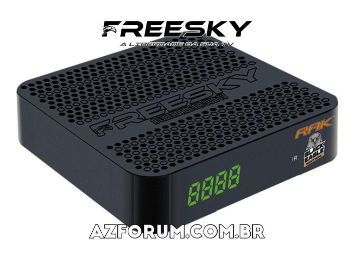 Atualização Beta Freesky Rak Black Eagle Edition V2848 - 11/06/2021