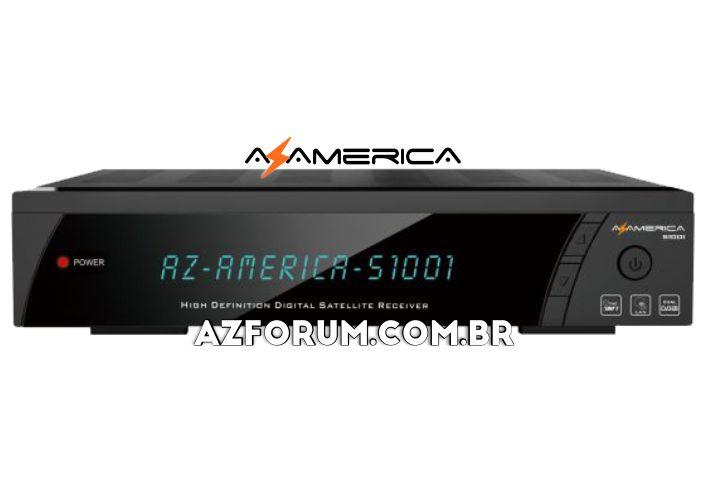 Atualização Azamerica S1001 HD V1.09.22942 - 08/07/2021