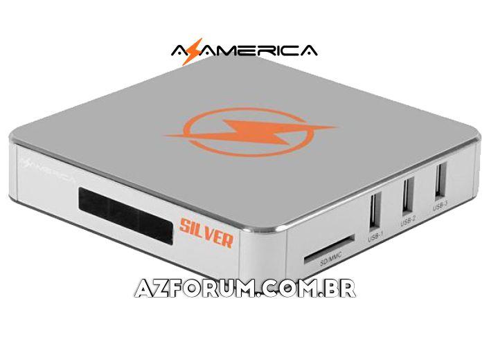 Atualização Azamerica Silver IPTV - 02/07/2021