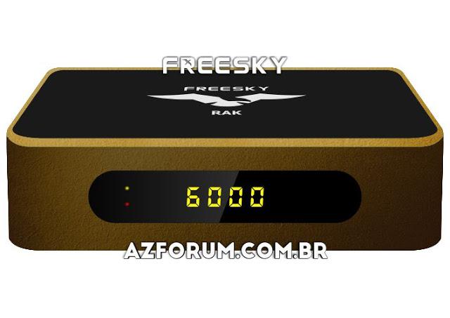 Atualização Freesky Rak V2856 - 30/07/2021