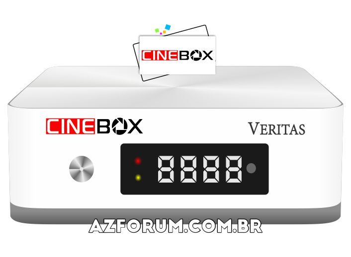 Atualização Cinebox Veritas V1.24.0 - 30/07/2021