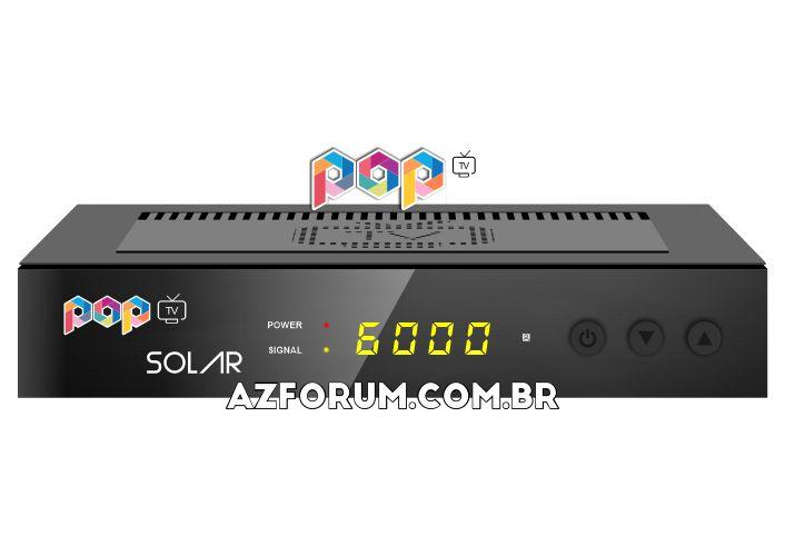 Primeira Atualização POP Solar V1.04 - 01/07/2021