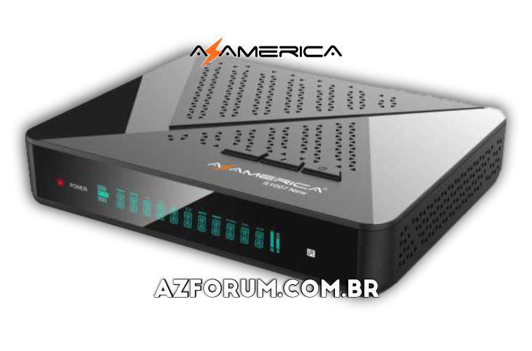 Atualização Azamerica S1007 New V1.09.22932 - 07/08/2021