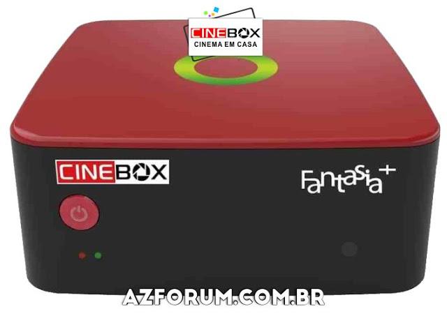 Atualização Cinebox Fantasia + Plus - 27/08/2021