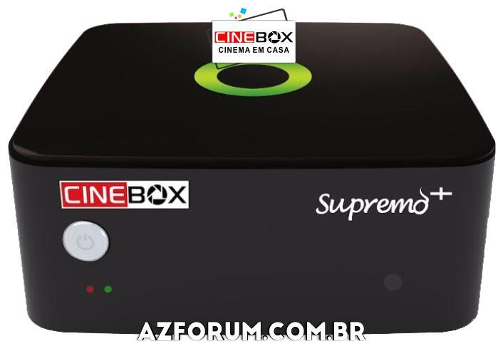 Atualização Cinebox Supremo + Plus - 27/08/2021