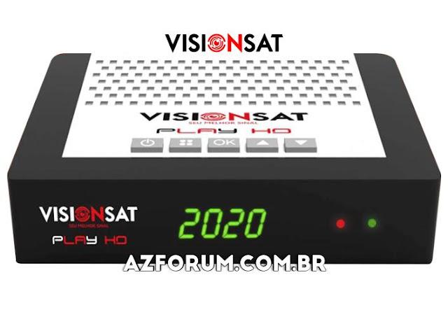 Atualização Visionsat Play HD V1.24 - 07/10/2021
