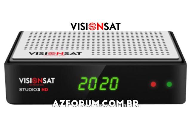 Atualização Visionsat Studio 3 HD V1.82 - 13/10/2021
