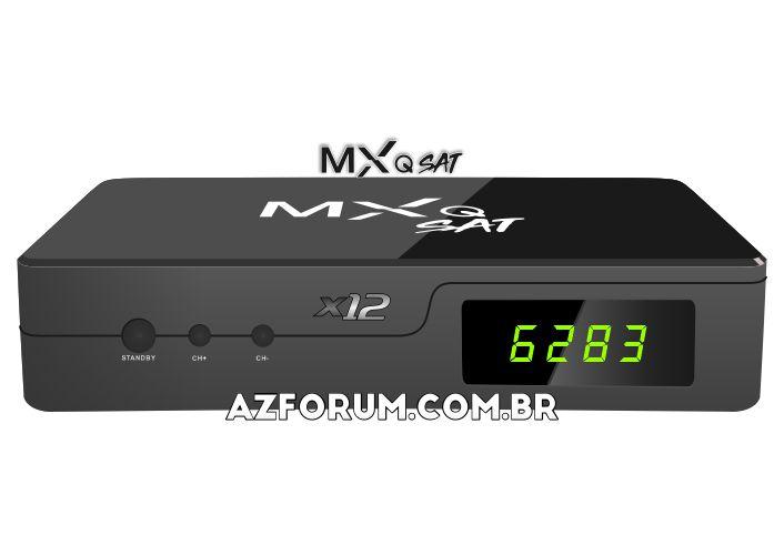Atualização MXQ Sat X12 V1.10 - 27/09/2021