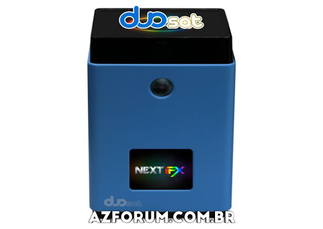 Atualização Duosat Next FX V1.1.26 - 08/10/2021