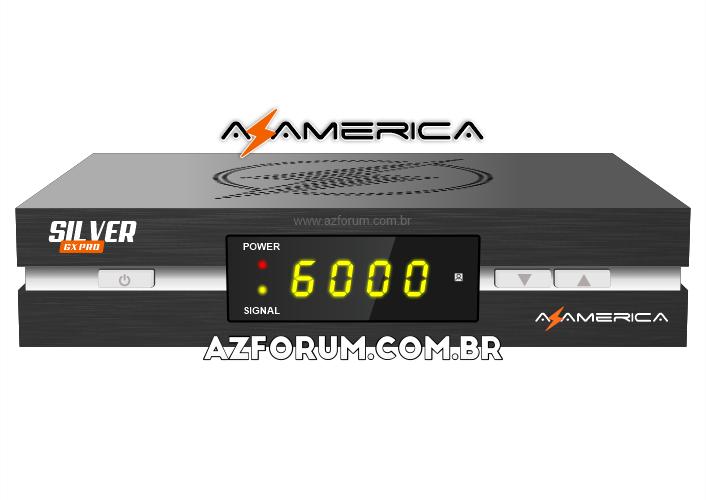 Atualização Azamerica Silver GX Pro V1.15 - 10/09/2021