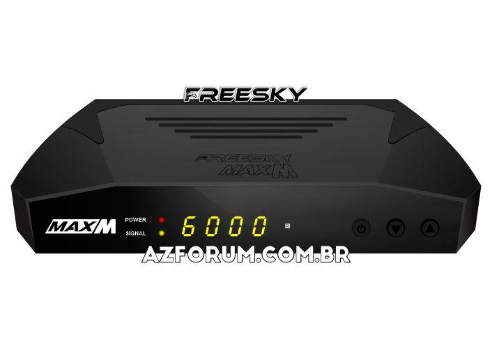 Atualização Freesky Max M V1.22 - 11/10/2021