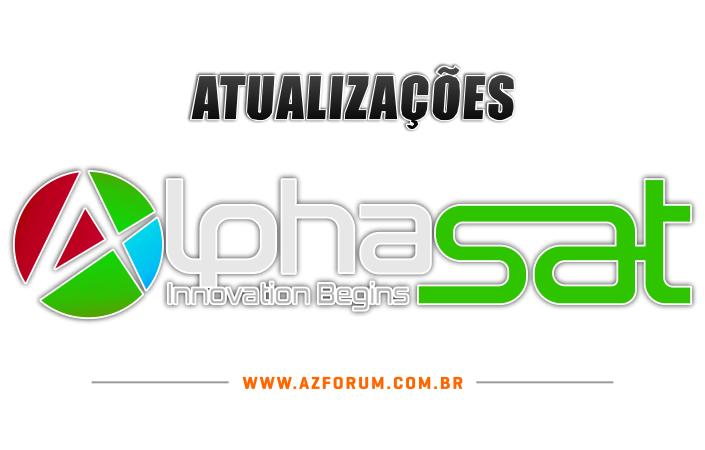 Atualizações Alphasat todos os modelos