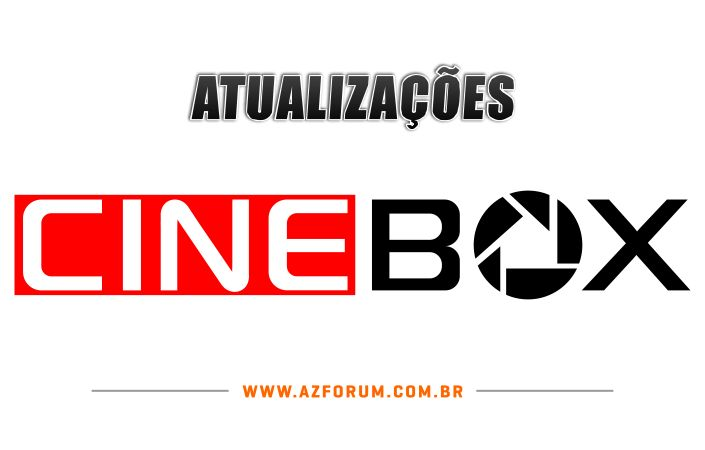 Atualizações Cinebox Todos os Modelos