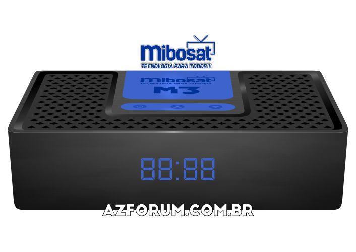 Primeira Atualização Mibosat M3 V4.0.77 - 06/10/2021